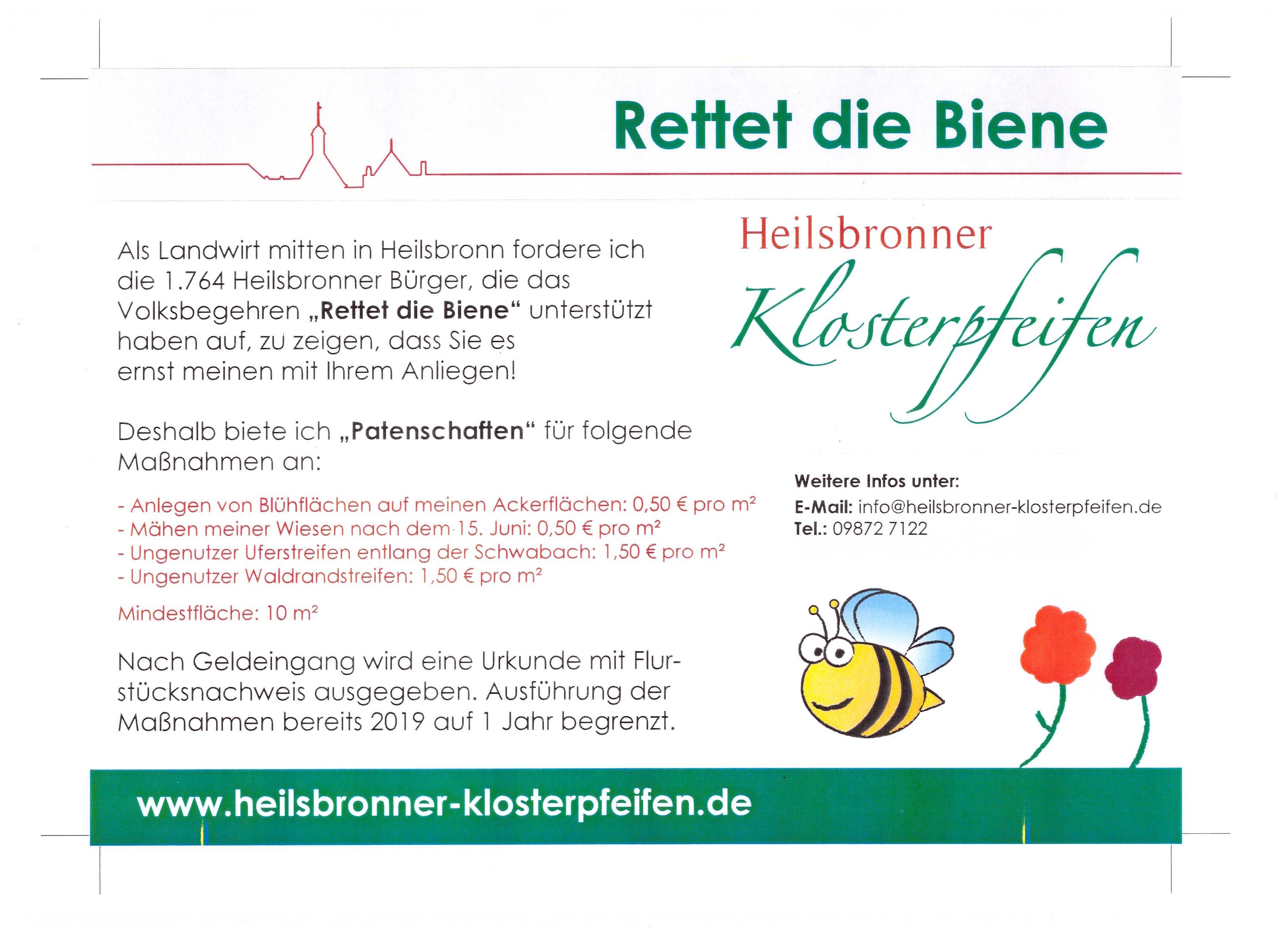 Rettet die Biene 001